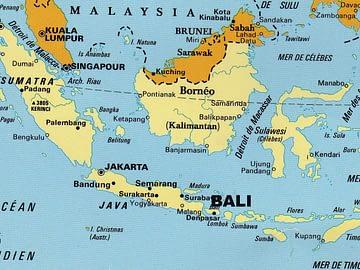 carte indonésie acceuil